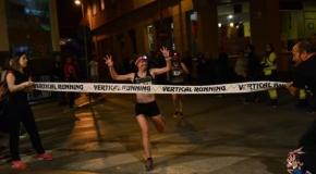 Amalia Pérez y Raúl Lorca, primeros ganadores de la Vertical Running