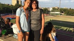 Carmen Marco, plata en el campeonato de España de velocidad