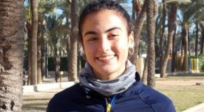 Una lesión en el isquiotibial limita a Carmen Marco en la final