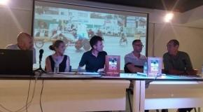Santiago Sanz recoge en un libro sus vivencias de maratoniano en silla de ruedas