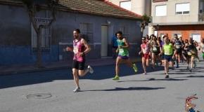 Cerca de seiscientos atletas en la IV Carrera Popular de Jacarilla