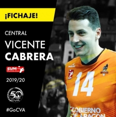 El laureado Vicente Cabrera regresa a casa para jugar en Superliga