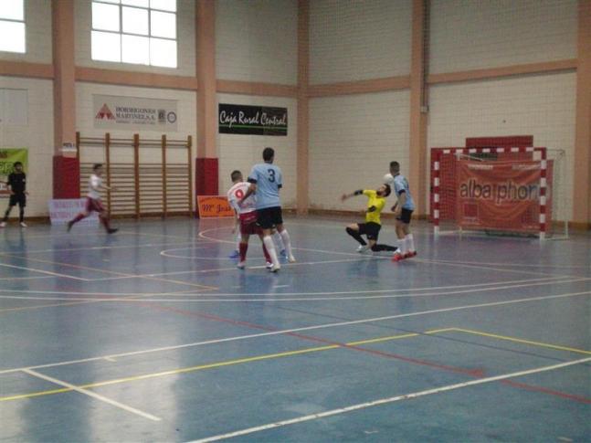 Penúltima jornada de liga en Tercera División nacional de fútbol sala