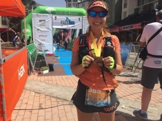 Hermi Ortiz, 'finisher' en la Ultra Sierra Nevada